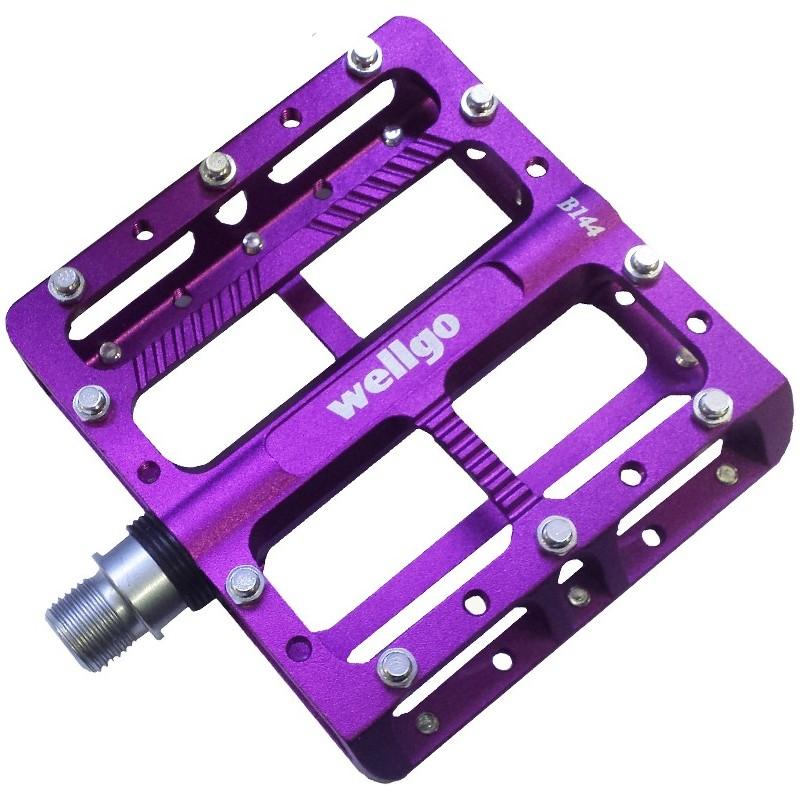 Wellgo - B144 Purple Pedals