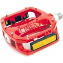Wellgo - LU987B Red Pedals
