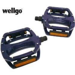 Wellgo - LU987U Blue Pedals
