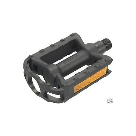 """Wellgo Junior 1/2"""" Thread Pedals Black"""
