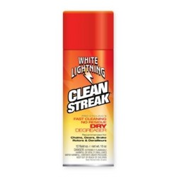 WHITE LIGHTNING CLEAN STREAK AEROSOL 10 OZ