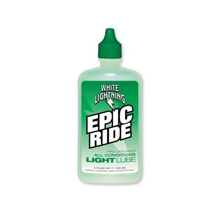WHITE LIGHTNING EPIC ALL CONDITION LUBE 4oz BOTTLE (120ml)