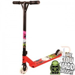 MADD NUKED PRO SCOOTER - RED