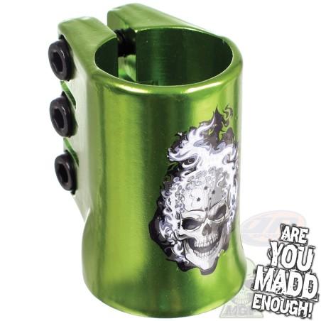 MGP Oversized Hot head Triple Collar Clamp - Green