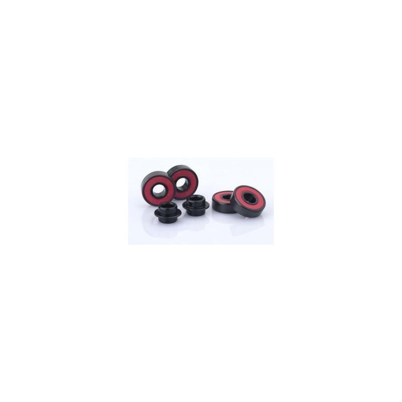 Sacrifice Bearings Roller Coaster Abec 9 Black/Red