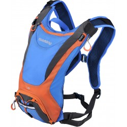 Shimano Unizen U2 2 litre volume hydration pack blue / orange