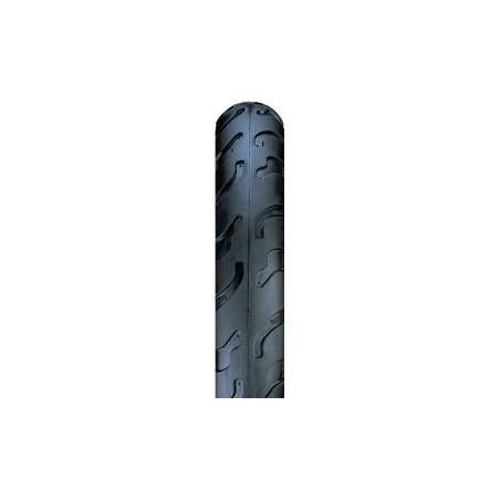 Nutax 12 x 1-1 / 2 - 2-1 / 4 inch semi-slick stroller tyre black