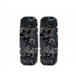 Rie:sel Fork Leg Protector  Stickerbomb Ultra Black