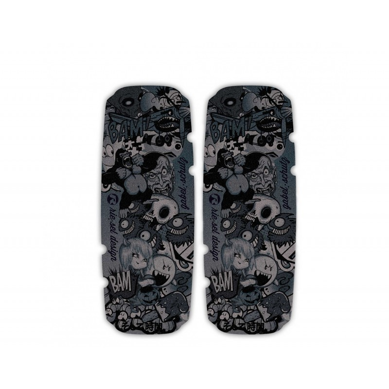 Rie:sel Fork Leg Protector  Stickerbomb Ultra Black