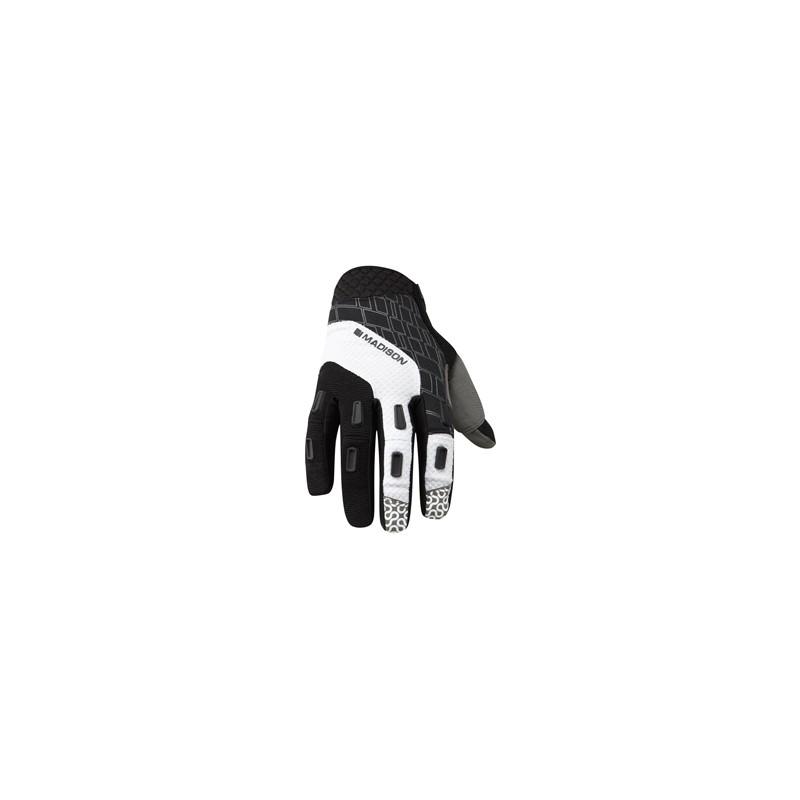 Madison Zenith men's gloves black / white