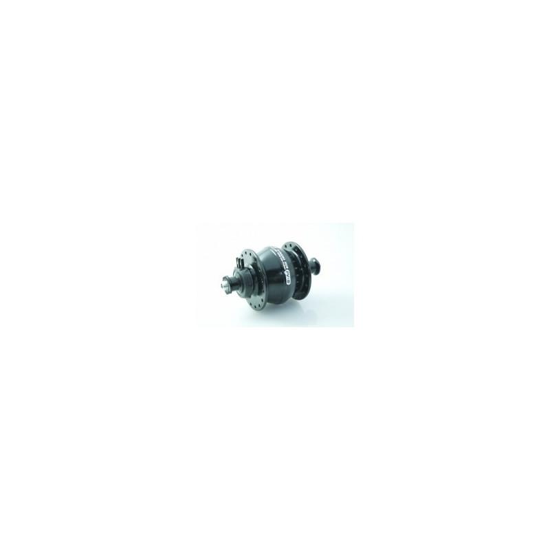 Shutter Precision Hub dynamo PV-8 V-Brake Black