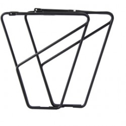 M-Part FLR front low rider rack for braze on fitting - alloy black