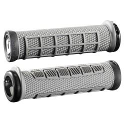 ODI Elite Pro Lock-On Grips Grey/Black 130mm