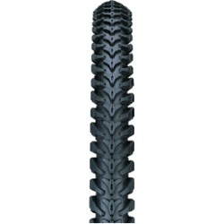 Nutrak 26 x 1.95 inch MTB XC knobbly universal tyre black