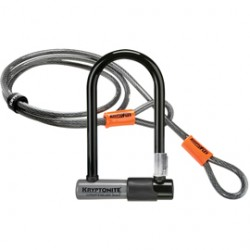 Kryptonite KryptoLok Series 2 Mini U-lock with FlexFrame bracket