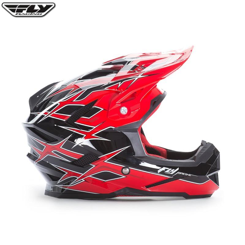 Fly 2017 Bike Default MTB Helmet Shaun Palmer Black/Red