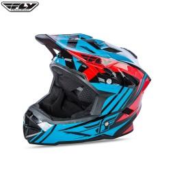 Fly 2017 Bike Default MTB Youth Helmet Teal/Red