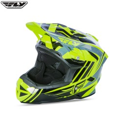 Fly 2017 Bike Default MTB Helmet Hi-Viz/Black