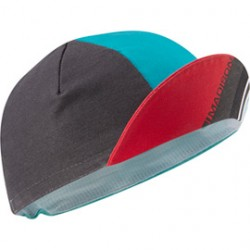 Madison Sportive poly cotton cap blue curaco blocks one size