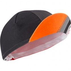 Madison Sportive poly cotton cap flame red blocks one size