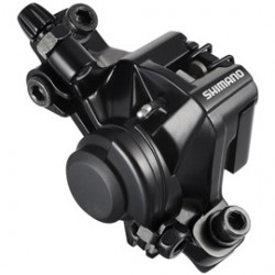 Shimano BR-M375 disc brake calliper without adapter for front or rear black