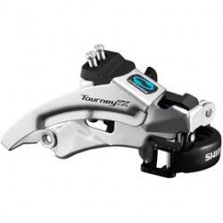 Shimano FD-TX800 Tourney TX front derailleur top swing dual pull for 42 / 48T 66-69
