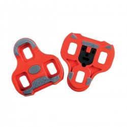 LOOK KEO CLEAT WITH GRIPPER 9 DEGREE FLOAT RED