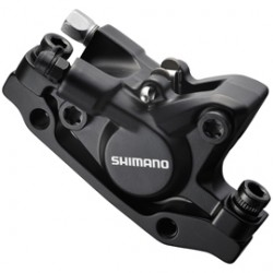 Shimano BR-M446 disc brake calliper without adapter for front or rear black