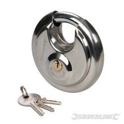 Stainless Steel Disc Padlock 90mm