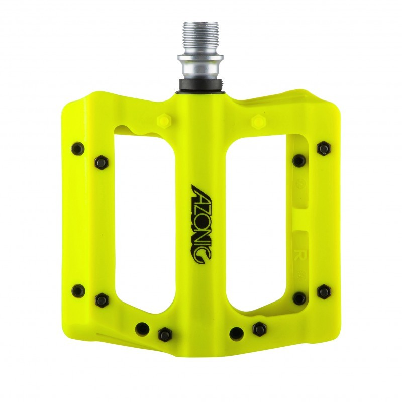 Azonic Blaze Pedal Yellow