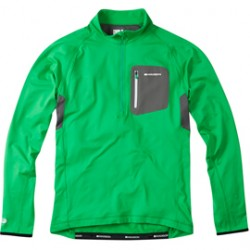 Madison Zenith men's long sleeved thermal jersey fern green