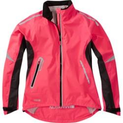 Madison Stellar women's waterproof jacket diva pink
