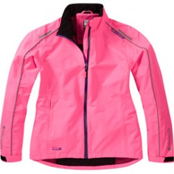 Madison Protec women's waterproof jacket knockout pink