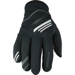 Madison Element men's softshell gloves phantom / black