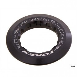 Token - CNC 6061 T6 Alloy Lockring Black