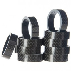 Token - 1-1/8 inches Blank Carbon Spacers In Packs Of 10 5mm