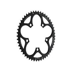 SRAM ROAD SPARE - CHAINRING ROAD 50T 5 BOLT 110MM BCD ALUM (50-34) 4MM BLACK