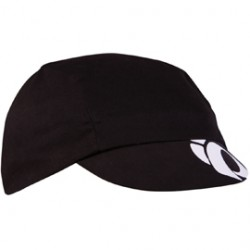 Pearl Izumi Unisex Cotton Cycling cap, black, one-size